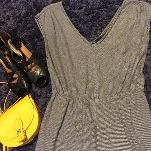 French Girl Gap striped casual dress